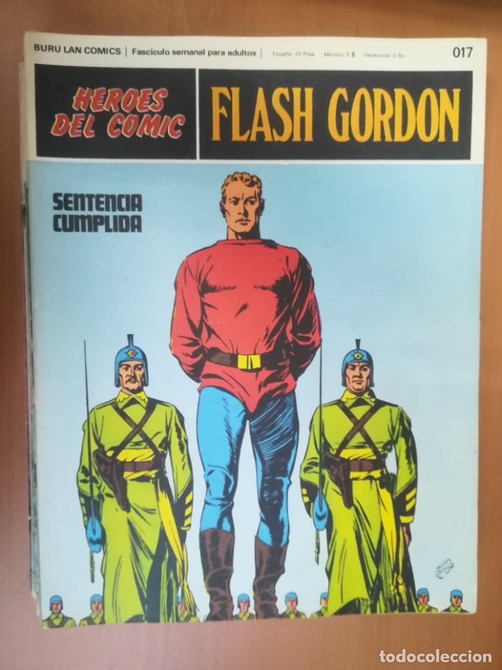 Cómics: FLASH GORDON. BURULAN. GRAN LOTE DE 104 FASCÍCULOS. - Foto 94 - 287605043