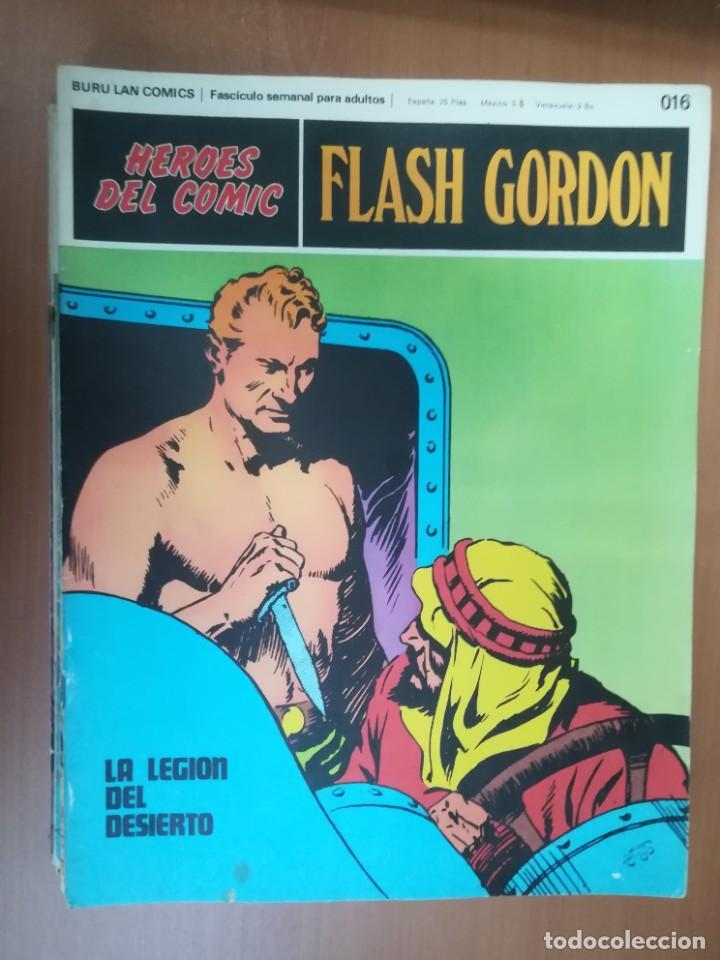 Cómics: FLASH GORDON. BURULAN. GRAN LOTE DE 104 FASCÍCULOS. - Foto 95 - 287605043