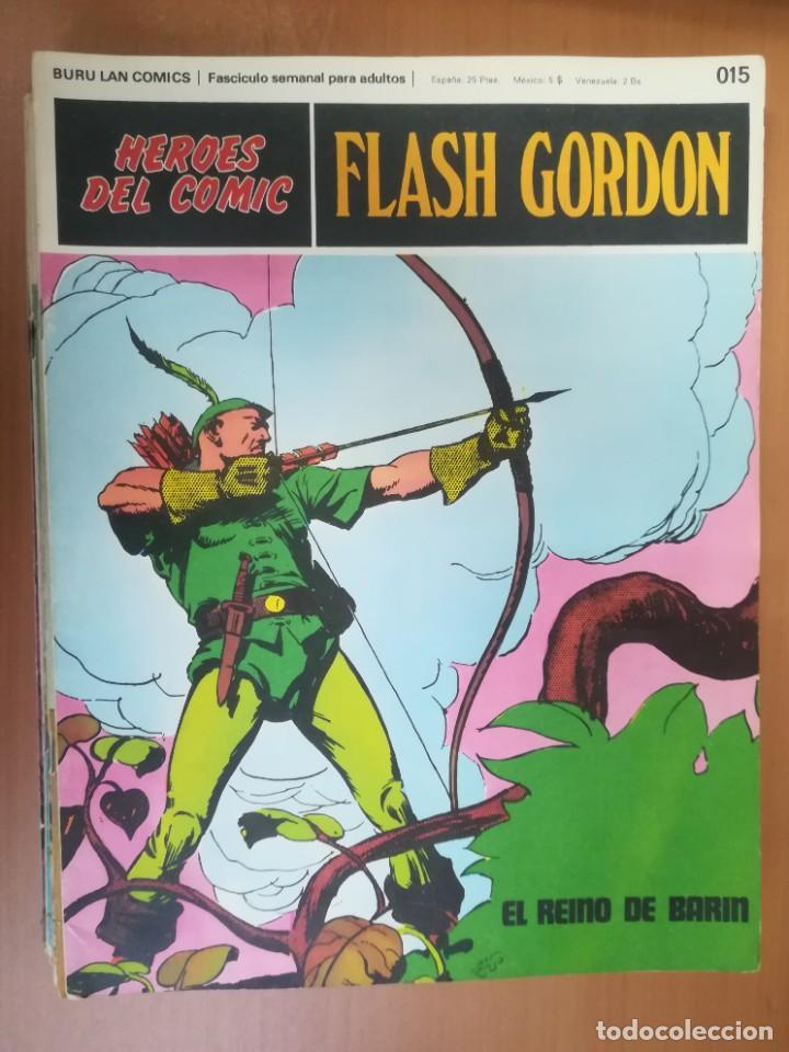 Cómics: FLASH GORDON. BURULAN. GRAN LOTE DE 104 FASCÍCULOS. - Foto 96 - 287605043