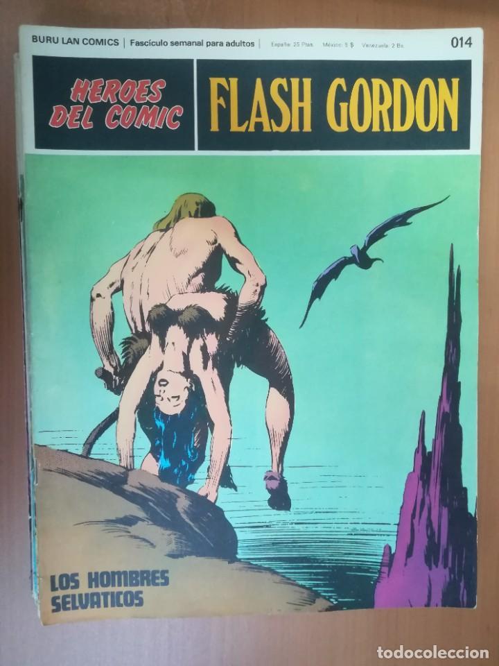 Cómics: FLASH GORDON. BURULAN. GRAN LOTE DE 104 FASCÍCULOS. - Foto 97 - 287605043