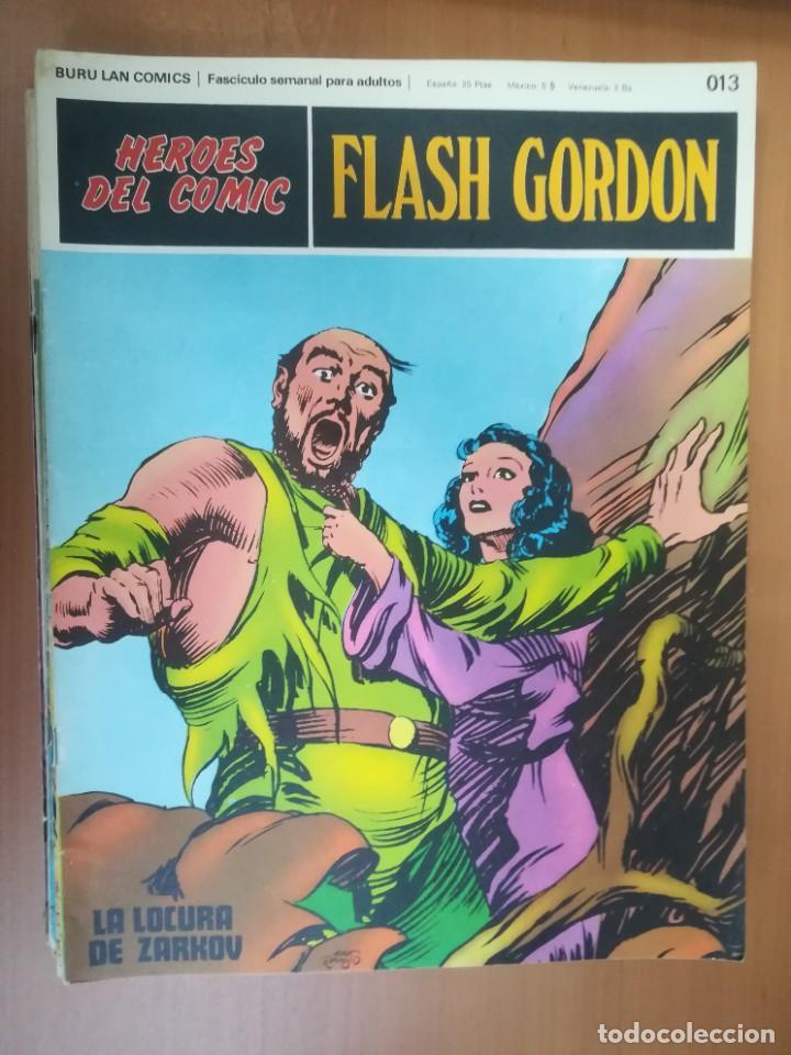 Cómics: FLASH GORDON. BURULAN. GRAN LOTE DE 104 FASCÍCULOS. - Foto 98 - 287605043