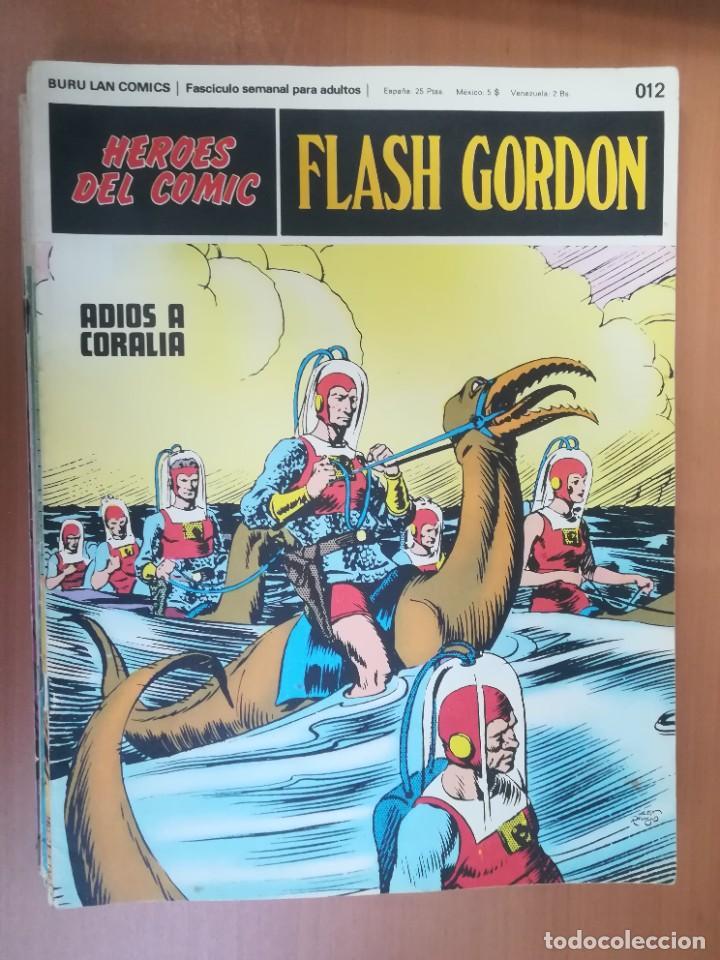 Cómics: FLASH GORDON. BURULAN. GRAN LOTE DE 104 FASCÍCULOS. - Foto 99 - 287605043