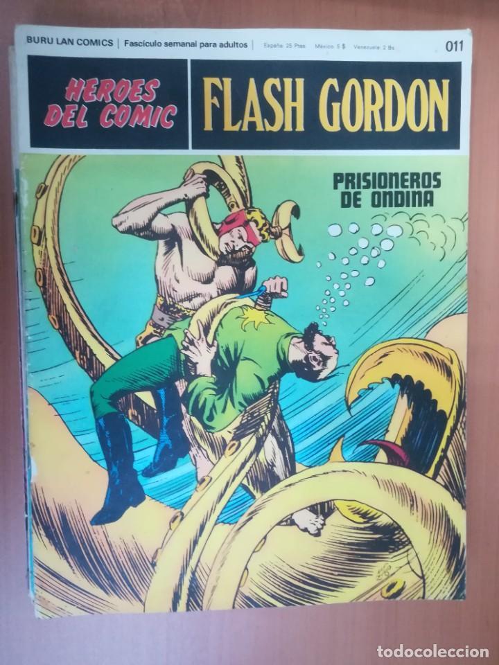 Cómics: FLASH GORDON. BURULAN. GRAN LOTE DE 104 FASCÍCULOS. - Foto 100 - 287605043