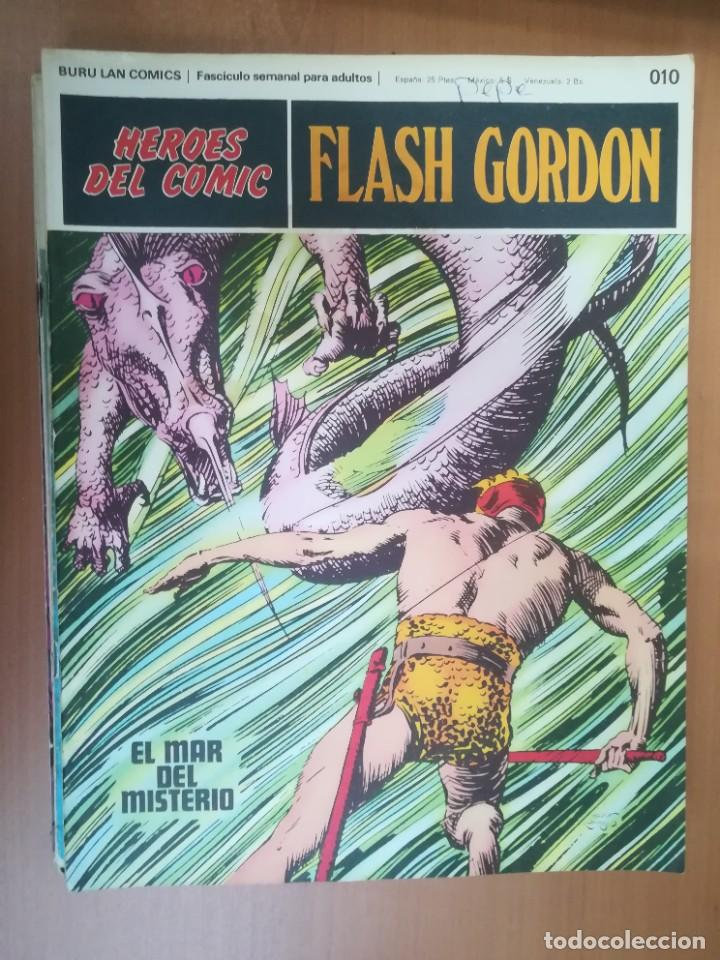 Cómics: FLASH GORDON. BURULAN. GRAN LOTE DE 104 FASCÍCULOS. - Foto 101 - 287605043