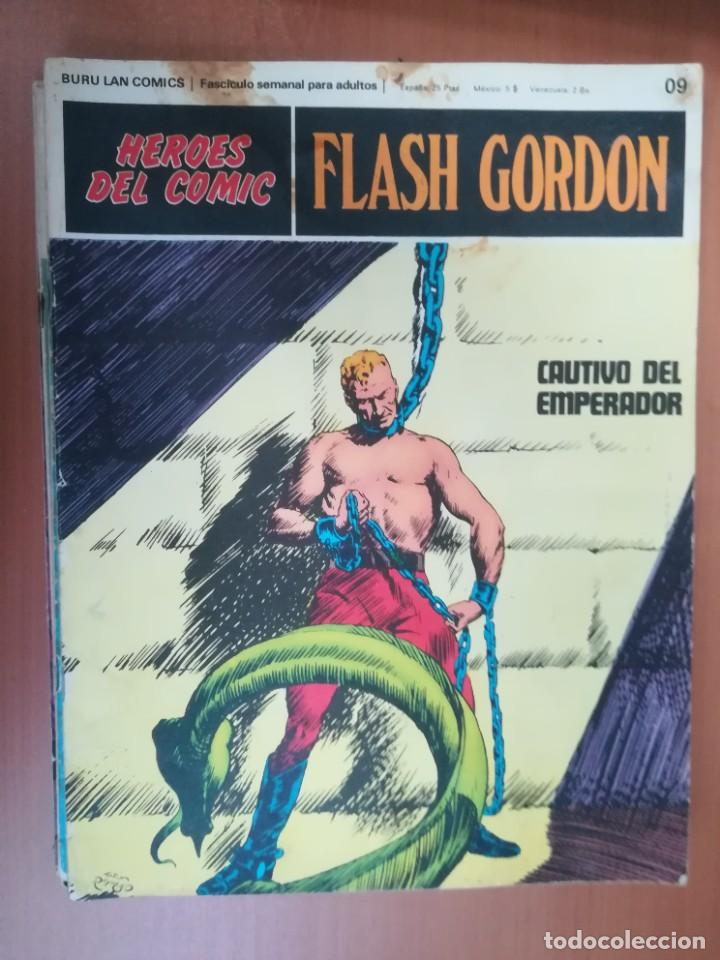 Cómics: FLASH GORDON. BURULAN. GRAN LOTE DE 104 FASCÍCULOS. - Foto 102 - 287605043