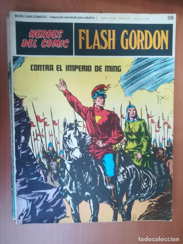 Cómics: FLASH GORDON. BURULAN. GRAN LOTE DE 104 FASCÍCULOS. - Foto 103 - 287605043