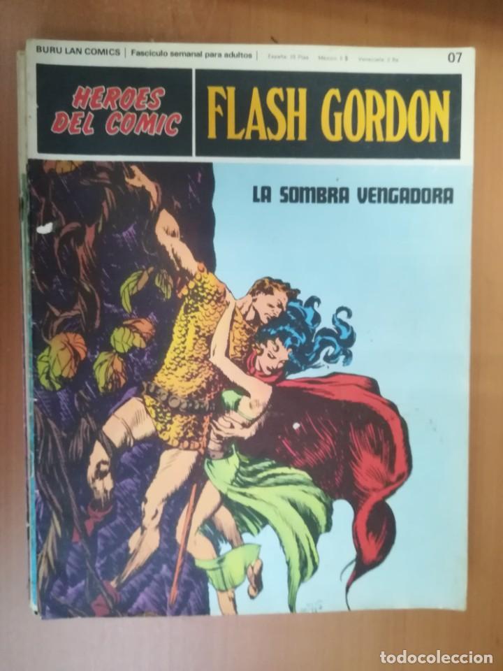 Cómics: FLASH GORDON. BURULAN. GRAN LOTE DE 104 FASCÍCULOS. - Foto 104 - 287605043