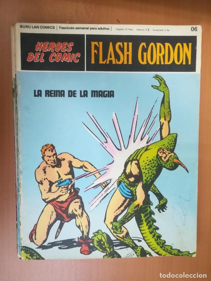 Cómics: FLASH GORDON. BURULAN. GRAN LOTE DE 104 FASCÍCULOS. - Foto 105 - 287605043
