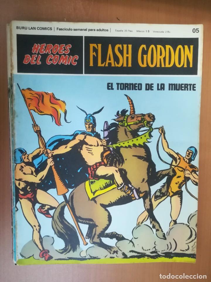 Cómics: FLASH GORDON. BURULAN. GRAN LOTE DE 104 FASCÍCULOS. - Foto 106 - 287605043