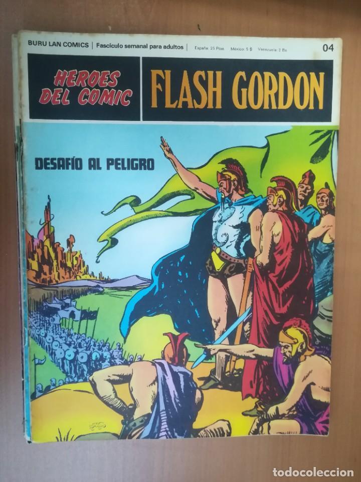Cómics: FLASH GORDON. BURULAN. GRAN LOTE DE 104 FASCÍCULOS. - Foto 107 - 287605043