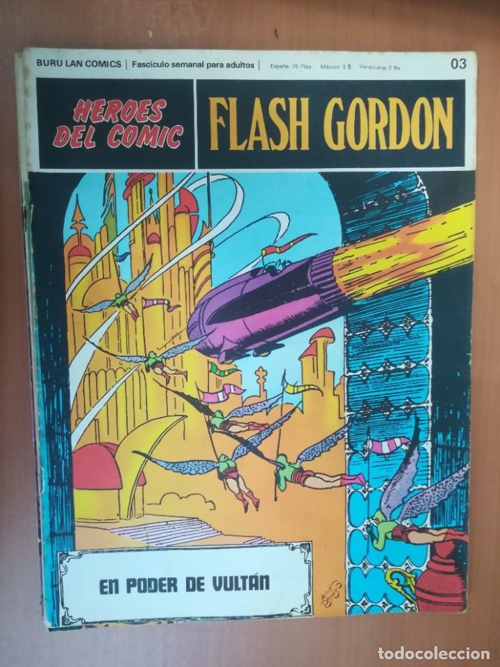 Cómics: FLASH GORDON. BURULAN. GRAN LOTE DE 104 FASCÍCULOS. - Foto 108 - 287605043