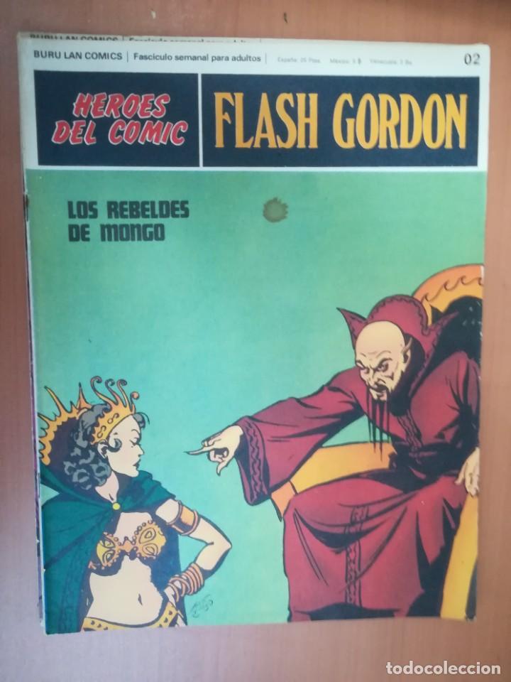 Cómics: FLASH GORDON. BURULAN. GRAN LOTE DE 104 FASCÍCULOS. - Foto 109 - 287605043