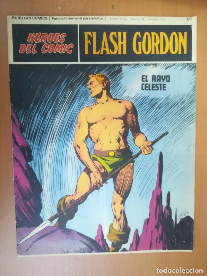 Cómics: FLASH GORDON. BURULAN. GRAN LOTE DE 104 FASCÍCULOS. - Foto 110 - 287605043