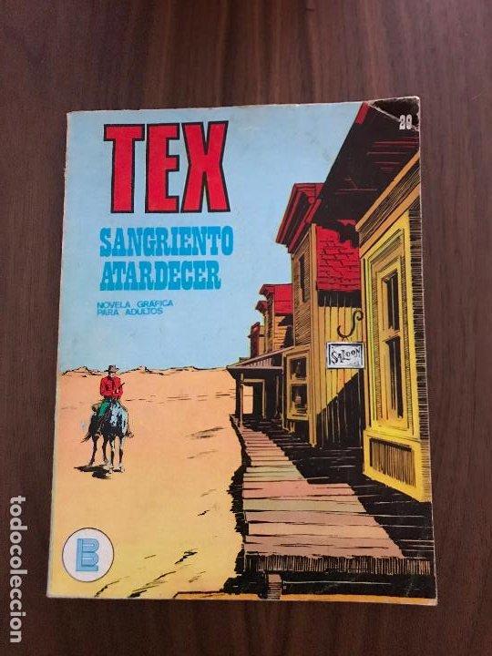 TEX Nº 29, EDITORIAL BURULAN (Tebeos y Comics - Buru-Lan - Tex)