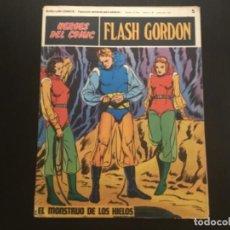 Cómics: COMIC BURU LAN COMICS FLASH GORDON NÚMERO 5 EL MONSTRUO DE LOS HIELOS. Lote 288360708