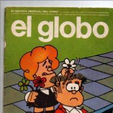 Cómics: EL GLOBO Nº 15. BURU LAN EDICIONES, 1974. PORTADA. QUINO.. Lote 288547793