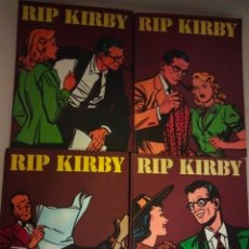 Cómics: RIP KIRBY COMPLETA 4 TOMOS BURULAN. Lote 289205883