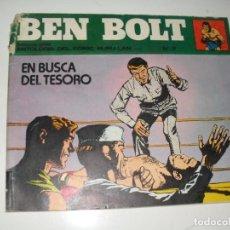 Cómics: BEN BOLT 7.EDICIONES BURU LAN,AÑO 1973.. Lote 289333398
