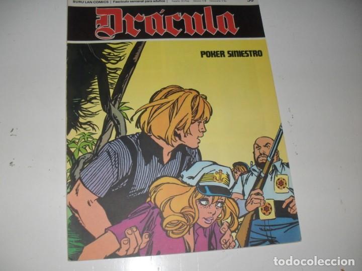DRACULA 50.EDICIONES BURU LAN,AÑO 1971. (Tebeos y Comics - Buru-Lan - Drácula)