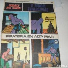 Cómics: EL HOMBRE ENMASCARADO 52(DE 96).EDICIONES BURU LAN,AÑO 1971.. Lote 289387643