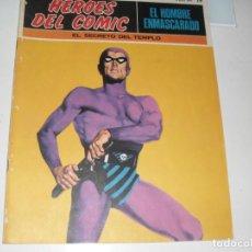 Comics: EL HOMBRE ENMASCARADO 19(DE 96).EDICIONES BURU LAN,AÑO 1971.PORTADA DE ENRICH.. Lote 289388133