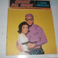 Comics: EL HOMBRE ENMASCARADO 16.(DE 96).EDICIONES BURU LAN,AÑO 1971.PORTADA DE ENRICH.. Lote 289388298