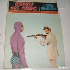 Cómics: EL HOMBRE ENMASCARADO 15.(DE 96).EDICIONES BURU LAN,AÑO 1971.PORTADA DE ENRICH.. Lote 289388313
