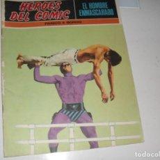 Cómics: EL HOMBRE ENMASCARADO 14.(DE 96).EDICIONES BURU LAN,AÑO 1971.PORTADA DE ENRICH.. Lote 289388343