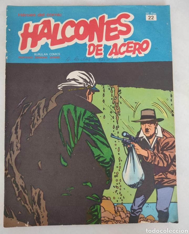 HALCONES DE ACERO UN PÁJARO LA HECHICERA DE ALAWOONA EN LA MANO N 22 (Tebeos y Comics - Buru-Lan - Halcones de Acero)