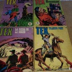 Cómics: TEX LOTE 4 NUMEROS. 58-66-68-84 BURULAN DE 25 PTAS ORIGINALES AÑOS 70-NUMEROS DIFICILES. Lote 290060208