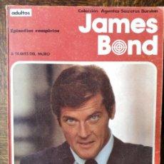 Cómics: JAMES BOND: A TRAVES DEL MURO - ALBUM RUSTICA COMIC BURULAN -. Lote 290065828