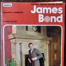 Cómics: JAMES BOND: SOMBRAS DE ORO - ALBUM RUSTICA COMIC BURULAN -. Lote 290065883