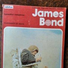 Cómics: JAMES BOND: TRATAMIENTO DE SHOCK - ALBUM RUSTICA COMIC BURULAN -. Lote 290066078