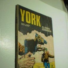 Cómics: YORK EL FUERTE ABANDONADO. BURU-LAN 1971 (ESTADO NORMAL). Lote 290326838
