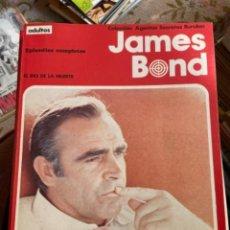 Cómics: 2 RETAPADOS JAMES BOND - BURU LAN (ENVÍO GRATIS). Lote 290469348