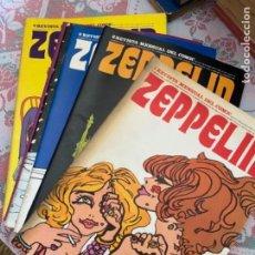 Cómics: COLECCIÓN REVISTA ZEPPELIN (ENVÍO GRATIS). Lote 290676163