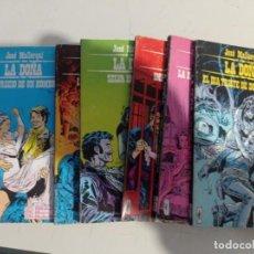 Cómics: LA DOÑA. JOSÉ MALLORQUÍ. BURU LAN 1971. COLECCION COMPLETA, 6 NÚMEROS REF. UR. Lote 291397238