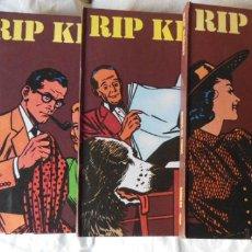 Cómics: RIP KIRBY (4 VOLUMENES Nº 1 AL 4 COLECCIÓN COMPLETA ) 1973 ALEX RAYMOND. Lote 291877638