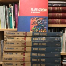 Cómics: FLAH GORDON. ALEX RAYMOND. BURU LAN. 11 VOLÚMENES . COMPLETA.. Lote 291887268