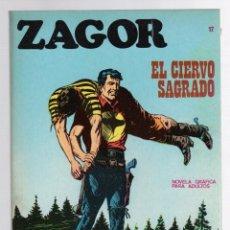 Comics: ZAGOR TERROR. Nº 17. EL CIERVO SAGRADO. COLECCION ZAGOR. BURU LAN 1971. Lote 291996883