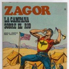 Comics: ZAGOR TERROR. Nº 22. LA CAMPANA SOBRE EL RIO. COLECCION ZAGOR. BURU LAN 1971. Lote 291997453