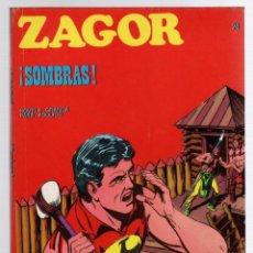 Comics: ZAGOR TERROR. Nº 24. ¡SOMBRAS!. COLECCION ZAGOR. BURU LAN 1971. Lote 291997963