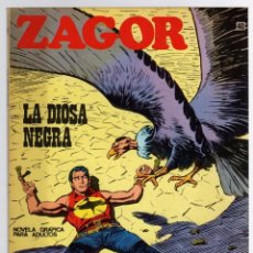 Comics: ZAGOR TERROR. Nº 40. LA DIOSA NEGRA. COLECCION ZAGOR. BURU LAN 1971. Lote 291999433