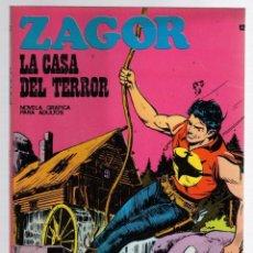 Comics: ZAGOR TERROR. Nº 42. LA CASA DEL TERROR. COLECCION ZAGOR. BURU LAN 1971. Lote 291999813