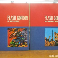 Cómics: FLASH GORDON -. 11 TOMOS - BURULAN / BURU LAN - COLECCION COMPLETA - ALEX RAYMOND. Lote 292144863