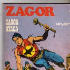 Cómics: ZAGOR ATACA, Nº 36-1ª EDICION DE 25 PTAS, 1972. Lote 292956628