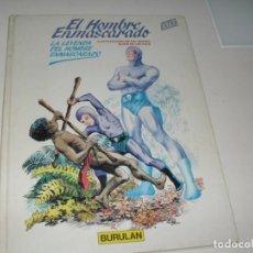 Cómics: EL HOMBRE ENMASCARADO 1.BURULAN,AÑO 1983.CON SU ORIGEN EN AVENTURA LARGA,. Lote 293790448