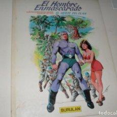 Cómics: EL HOMBRE ENMASCARADO 3.BURULAN,AÑO 1983.CON LA AVENTURA EL HEROE DE OLAN.. Lote 293790823