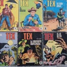 Cómics: TEX BURULAN 6 NÚMEROS. Lote 294130583