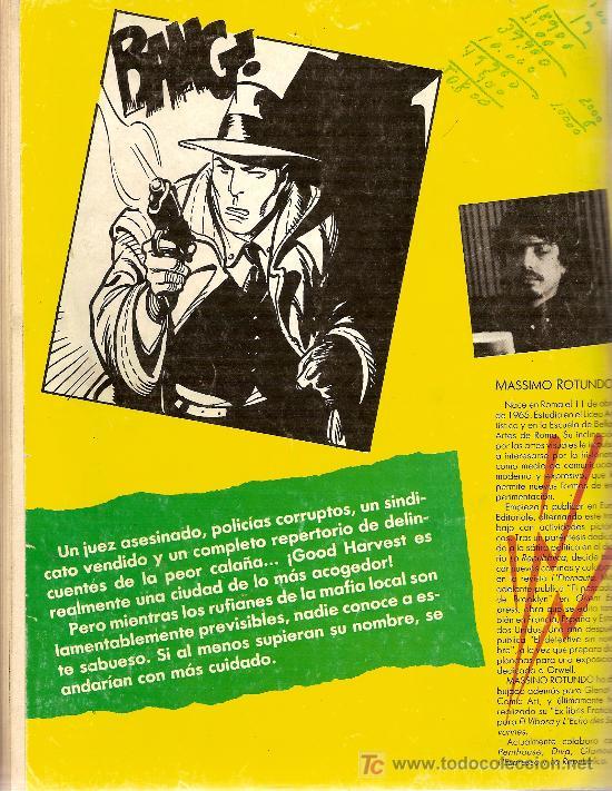 Cómics: Números pintados en contraportada - Painted numbers in backcover. - Foto 2 - 4783726